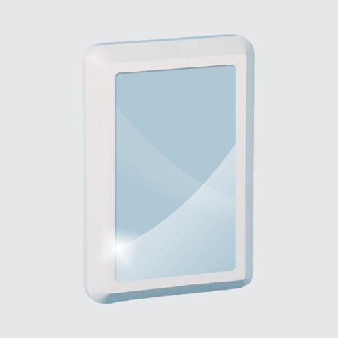 K515 Polycarbonate Mirror